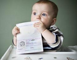 Правила предоставления врееменной регистрации с малолетним ребенком