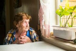 Специальный дом для одиноких престарелых