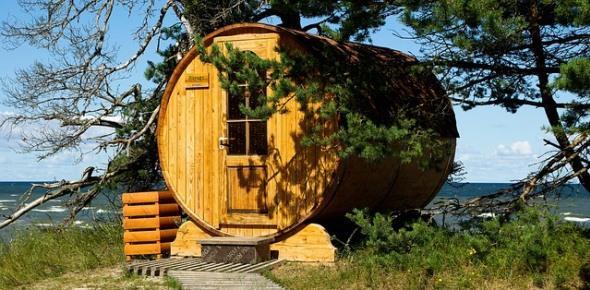 Как оформить на даче дом и баню