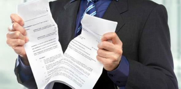 Как разорвать договор с банком