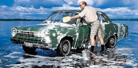 Мытье машин в общественных местах дозволения и запреты